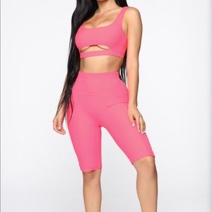 Pink everyday wear set